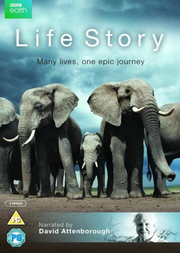 Life Story BBC David Attenborough (Aminals) Region 4 DVD New In Stock