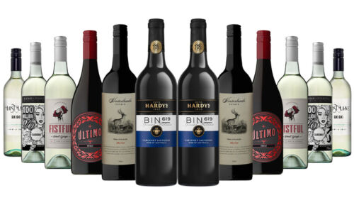 1000+ SOLD! AU Red Wine & White Mixed 12x750ml 5-Star Winery Free S/R