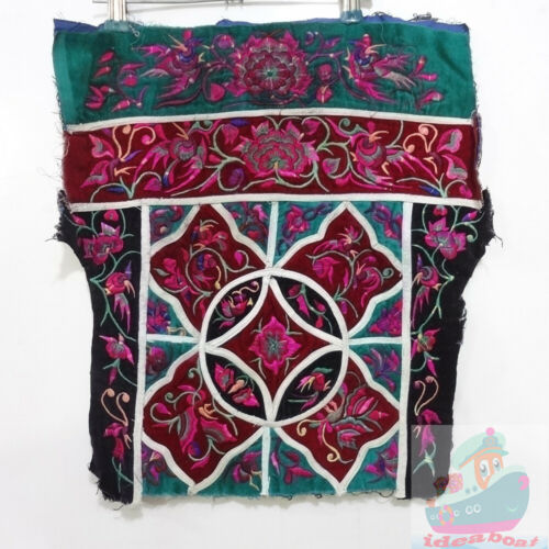 42x40cm Chinese ethnic minority women's Hand Embroidery piece(Baby Carrier)
