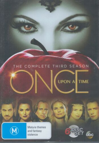 ONCE UPON A TIME (6 x DVD Set) The Complete 3rd Third Season 3 - NEW & SEALED