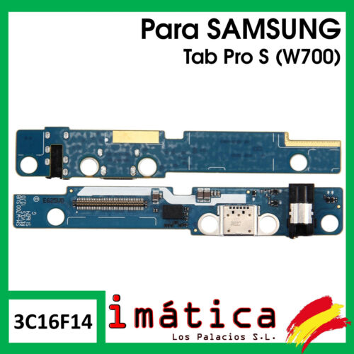 Board Charge For Samsung Tab PRO S W700 Button Connector USB C Micro Jack Audio
