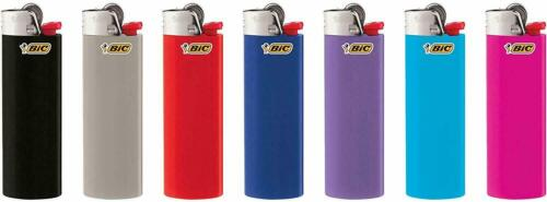 5 x Bic Lighters Maxi bulk Pack of 5 randomly selected colours made in France
