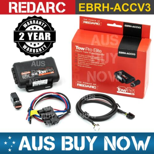 EXPRESS REDARC EBRH-ACCV3 TOW PRO ELITE V3 ELECTRIC TRAILER BRAKE CONTROLLER CAR <br/> MAKE AN OFFER + FREE EXPRESS POST + NEW REDARC WARRANTY