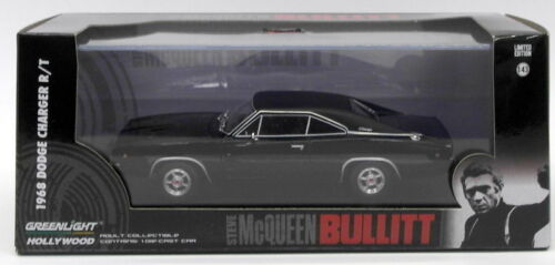 Dodge charger r//t 1968 bullit 1:43 movie scala greenlight
