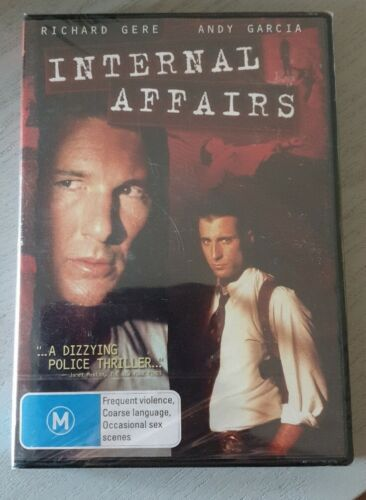 Internal Affairs DVD - Region 4 PAL-Richard Gere  New and sealed Free Postage