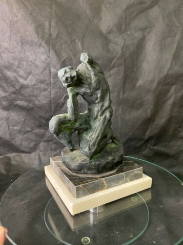 Beautiful abstract bronze nude signed by Henri Matisse