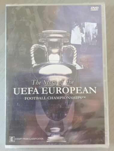 THE STORY OF THE UEFA EUROPEAN FOOTBALL CHAMPIONSHIPS DVD NEW AND SEALED