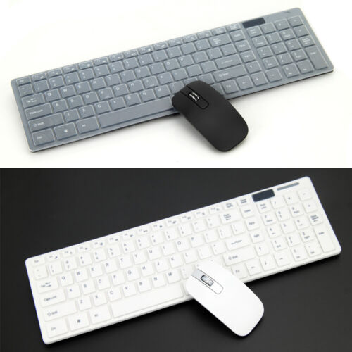 Wireless Keyboard and Optical Mouse USB Receiver Cordless Desktop For Windows