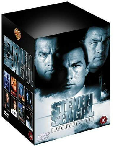 """THE STEVEN SEAGAL 8 MOVIE COLLECTION DVD BOX SET 8 DISCS """"NEW&SEALED"""""""