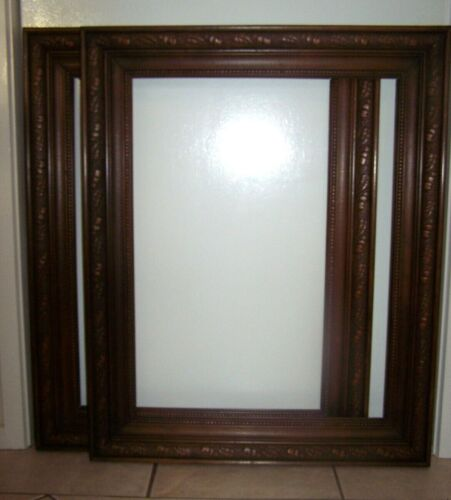 Pair of Matching Antique Kauri Pine Picture Frames