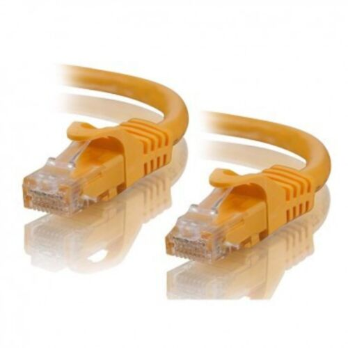 Network Cable - 0.25M RJ45M to RJ45M Cat6 Cable - Yellow