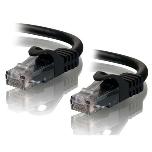 Network Cable - 0.5M RJ45M to RJ45M Cat6 Cable - BLACK