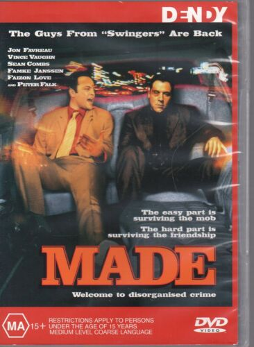 Made (DVD, 2002) BRAND NEW, NOT SEALED #RC4