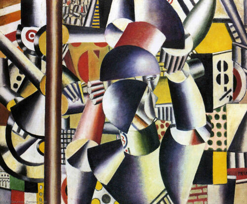 Acrobats in the circus : Fernand Leger 1918 : Archival Quality Art Print