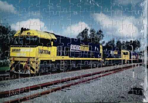 PACIFIC NATIONAL A4 120 PIECE JIGSAW PUZZLE A