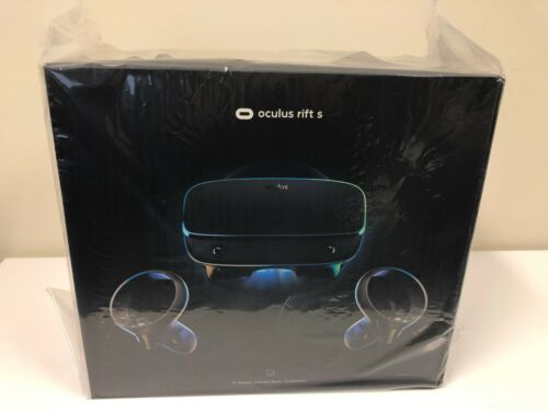 BRAND NEW Oculus Rift S PC-Powered VR Gaming Headset Sealed Unopened