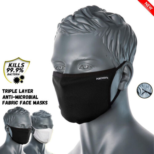 Triple Layer Face Mask Unisex Anti-Microbial Fabric Reusable Washable Masks <br/> ✔FREE Same Day Dispatch ✔Australia Post ✔Sydney Stock