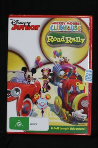 Mickey Mouse Clubhouse - Road Rally - R4 New Sealed - (D227)
