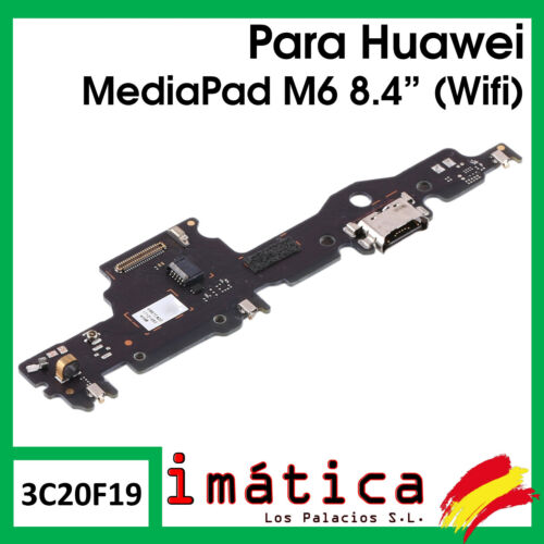 Board Charge For Huawei Mediapad M6 8.4 Connector USB C Port Vibrator Wifi