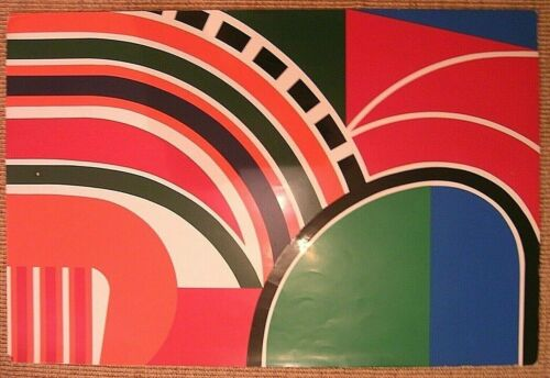 Jean Dewasne Abstract Serigraph Signed Listed 1970's