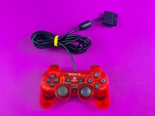 Genuine PS1 Controller Red - PS1 PAL *Complete*