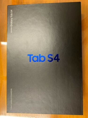 NEW Samsung Galaxy Tab S4, 256GB, Wi-Fi + 4G (Unlocked), 10.5 inch, Black