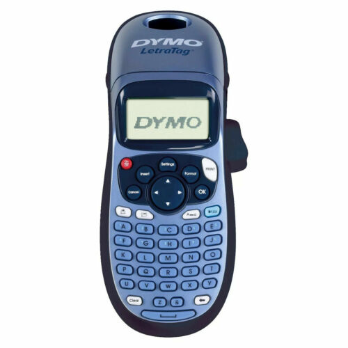 Dymo Letratag LT-100H Label Printer Blue with Refill