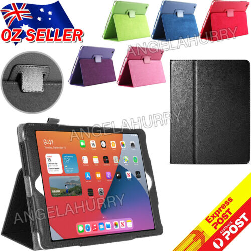 """New Apple iPad 8th Gen 10.2"""" Cover Smart Leather Stand Flip Case iPad 10.2 2020"""