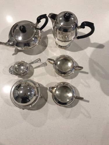 Silver Plate  Crockery Items - Hand Engraved