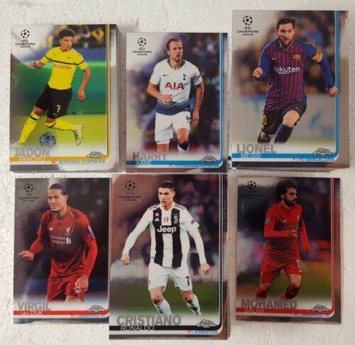2018-19 Topps Chrome UEFA Champions League Card SINGLES