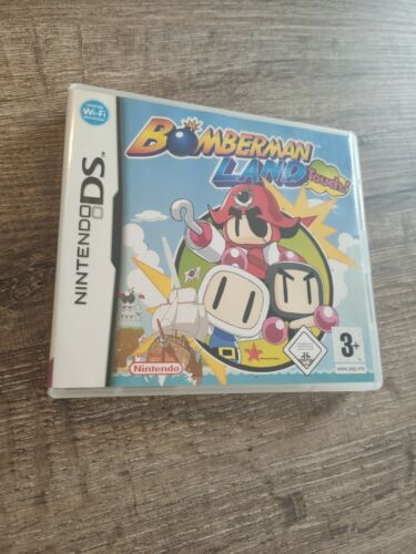 jeu game console nintendo DS EUR bomber land touch bomberland