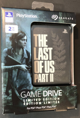 Seagate 2TB Game Drive for PS4 [ The Last of US Part II Limited Edition ] NEW