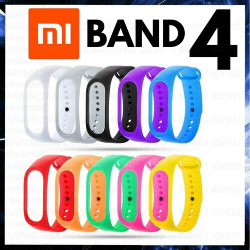 CINTURINO PER XIAOMI MI BAND 4 BRACCIALE SMART WATCH IN TPU STRAP MIBAND BAND4