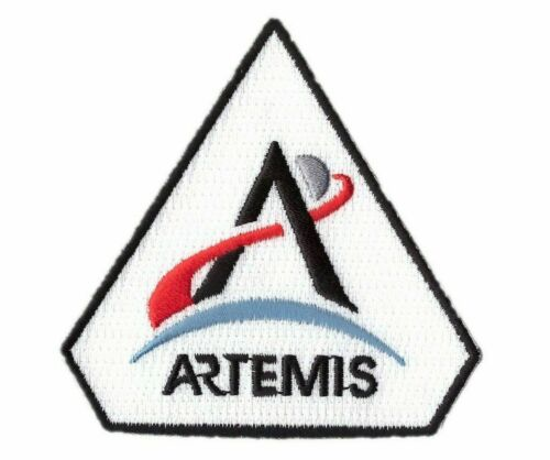 Artemis Moon Mission NASA Space X Astronaut Crew Thermoadhesive PatchParches - 4725