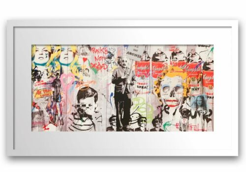 """Mr. Brainwash- Original Offset Lithograph on Paper """"Love is the Answer"""""""