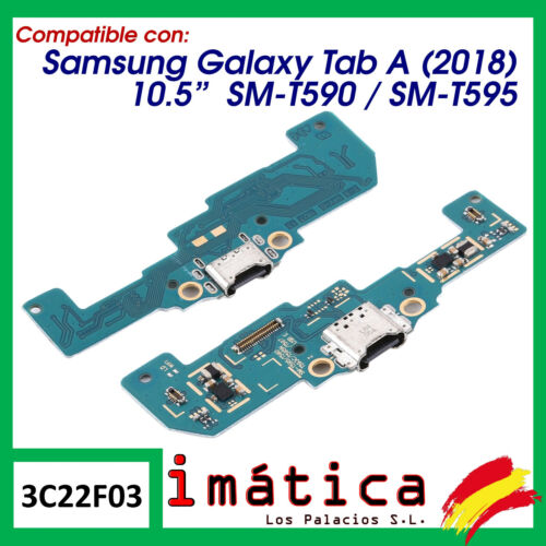 "Board Charge For Samsung Galaxy Tab A 10,5 "" 2018 Microphone Connector Module"