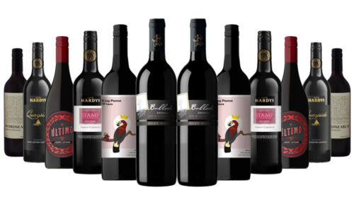 Iconic Aussie Red Mixed 12x750ml RRP$240 Free Shipping/Returns