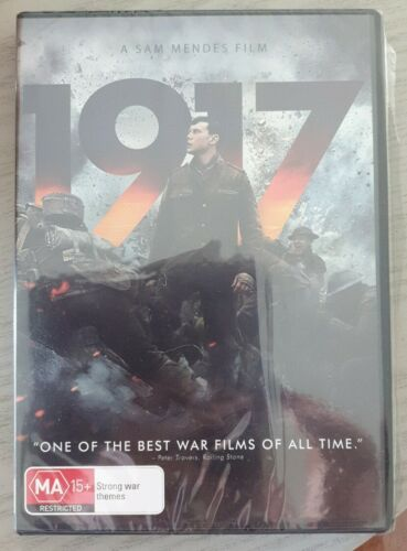 1917 DVD Region 4 New And Sealed Free Postage