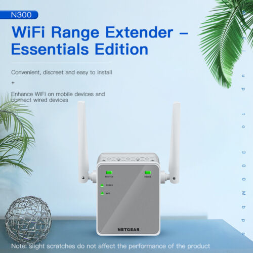 NETGEAR EX2700 WiFi Range Extender Wireless WiFi N300 Signal Booster Repeater AU