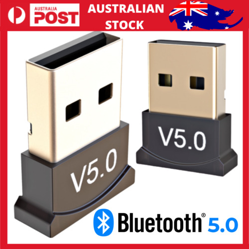 Bluetooth V5.0 Wireless Mini USB Dongle Adapter For PC Desktop Computer Win 7 10