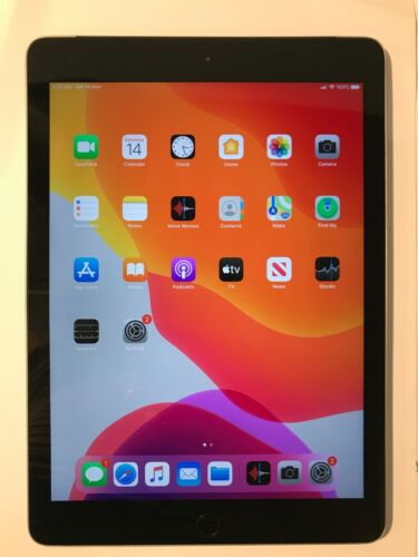 """Apple iPad 6th Gen 128GB Wi-Fi + Cellular A1954 9.7"""" Space Grey Great Condition"""