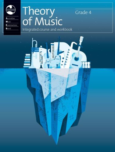 AMEB Theory of Music Integrated Course and Workbook Grade 4 1204071039 NEW
