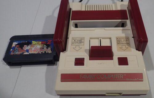 Nintendo Famicom NES - Family Computer Console with Dragonball Z Game NTSC-J