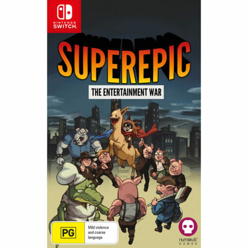 *PREOWNED* Super Epic The Entertainment War Nintendo Switch