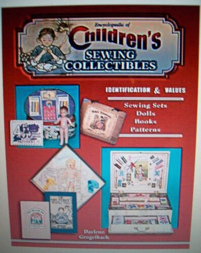 SEWING CHILDREN PRICE GUIDE COLLECTOR'S BOOK PATTERNS SET DOLLS