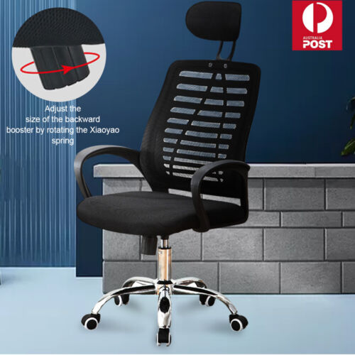 Ergonomic Executive Office Computer Chair Breathable Mesh Cushions Support Seat