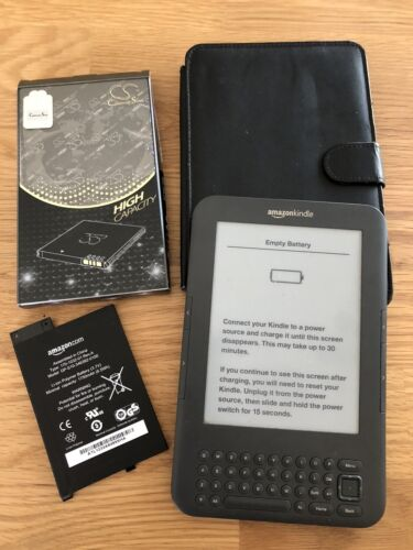 Kindle 3rd Generation Bundle **Not Working**