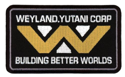 Tactical Building Better Worlds Weyland Yutani VELCRO® BRAND Hook Fastener PatchParches - 4725