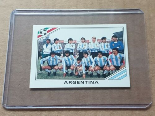 PANINI ARGENTINA N°169 MARADONA WORLD CUP STORY MEXICO 86 COLLECTIONStickers, albums, sets - 141755