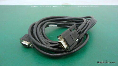 HP 590976-001 12 ft. (3.65m) 9-pin Shielded Serial Cable - Download, male/female